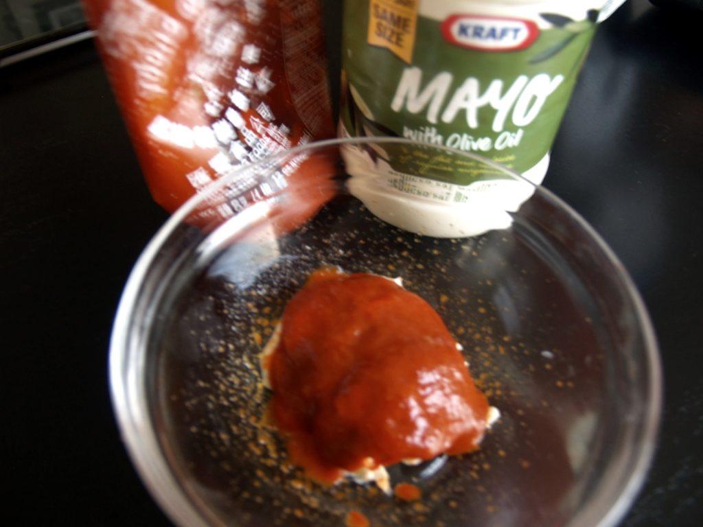 Healthier Sriracha Mayo