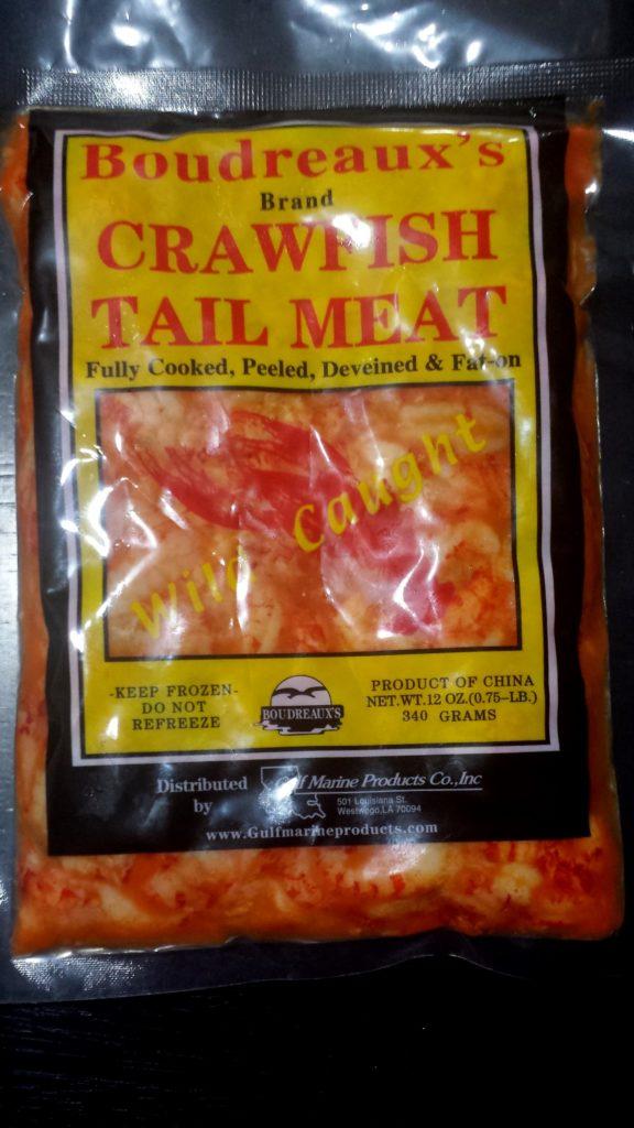 Crawfish Tail Meat