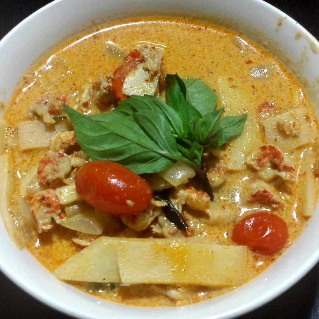 Crayfish Coconut Curry