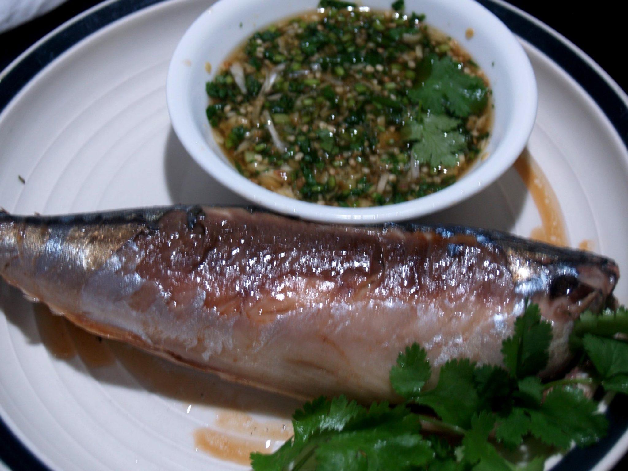 how to cook mackerel fillets in foil