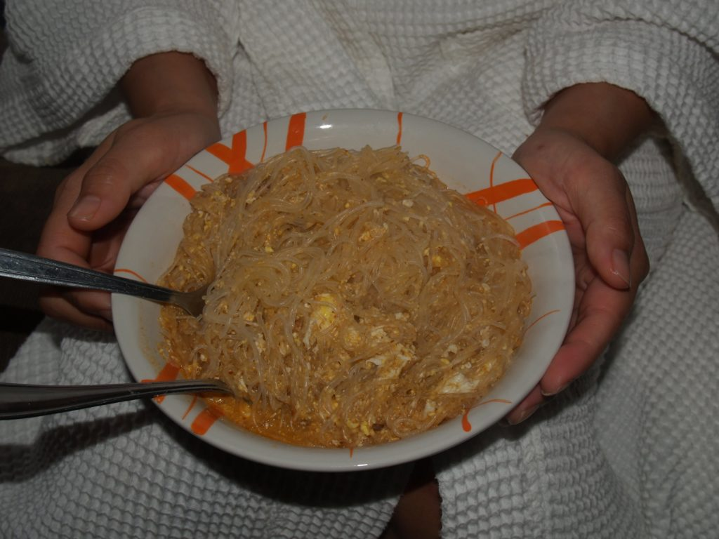 Egg and Vermicelli