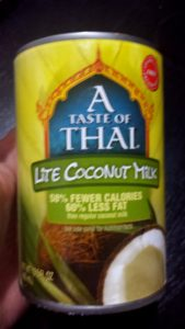 Lite coconut Milk