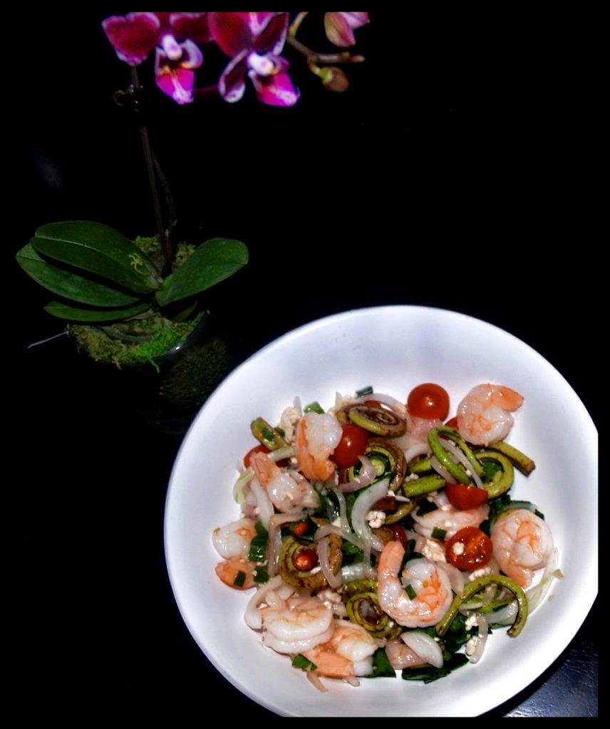 Fiddle-Head Salad