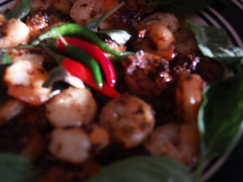 Thai Basil Scampi Shrimp-min