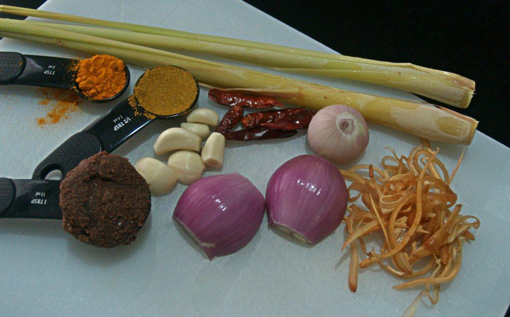 Khao Soi Ingredients Paste
