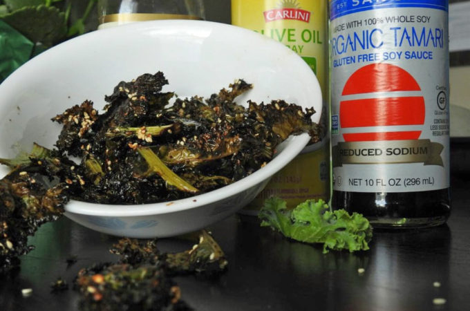 Thai Flavored Kale Chips