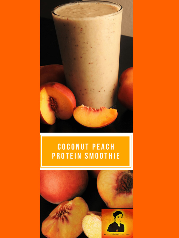 Coconut Peach Pintrest