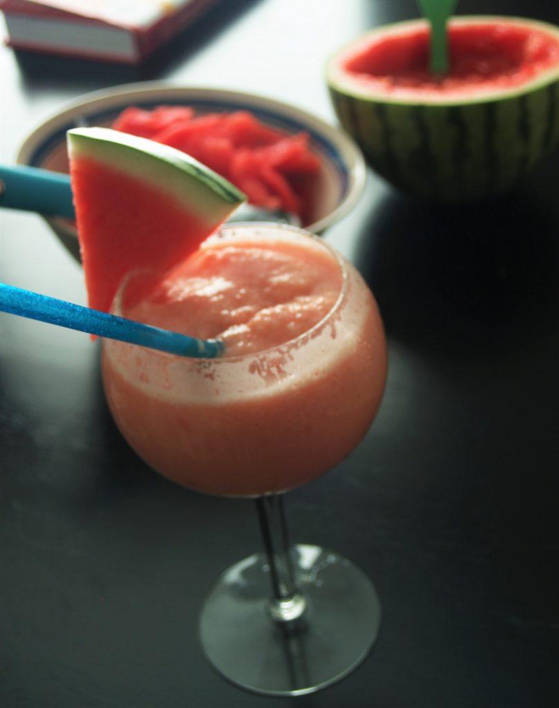 Thai Lemongrass Watermelon Smoothies