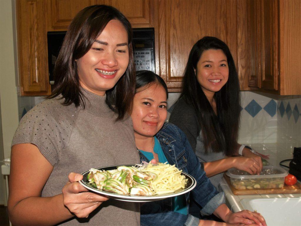 Lettuce wrap preparation