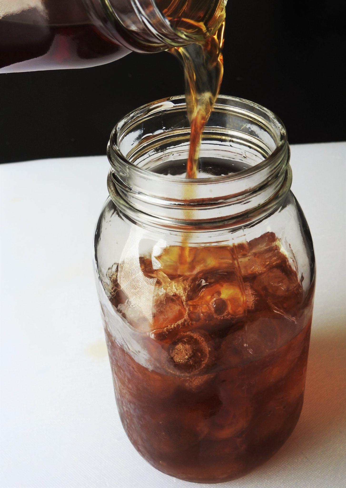 Bael Tea in Ice