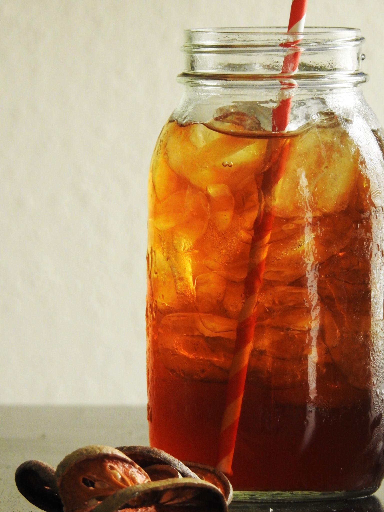 Iced Cold Bael Tea