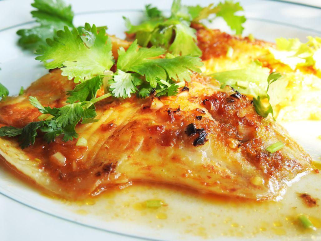 Roasted Thai Chili Lime Fish