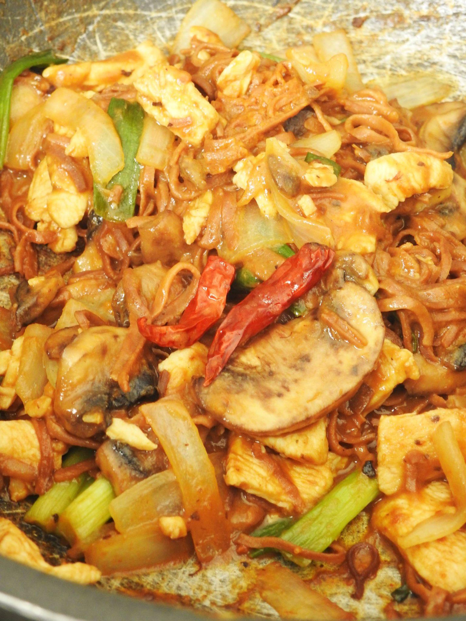 Explore Asian Soybean Spaghetti Thai Style