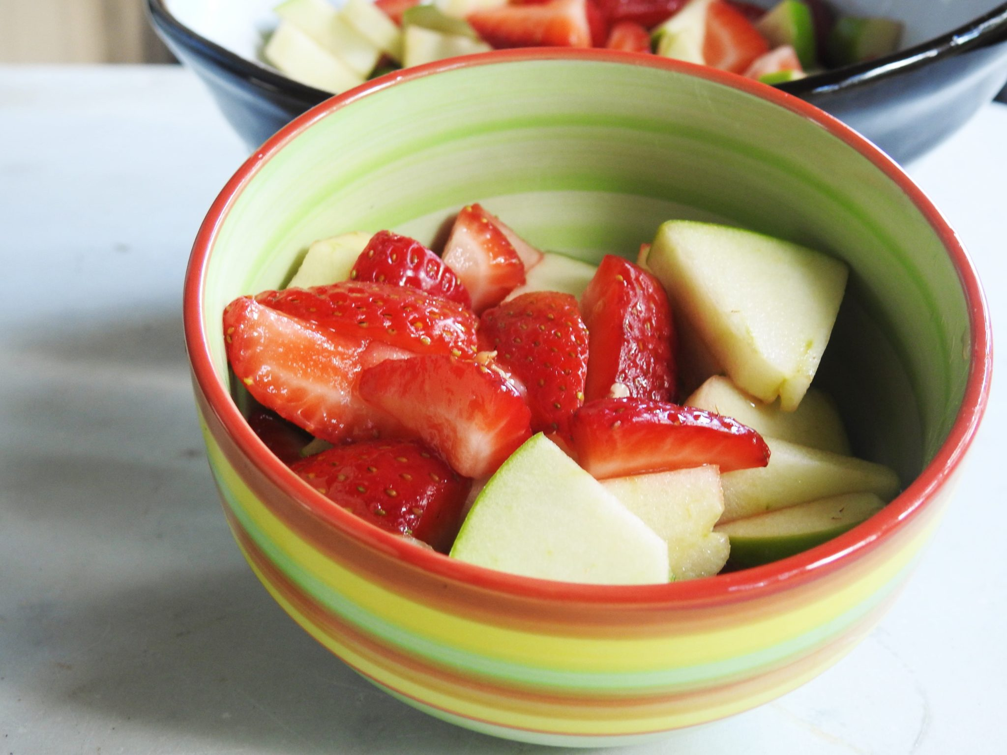 Strawberry and Green Apple Thai Fruit Salad