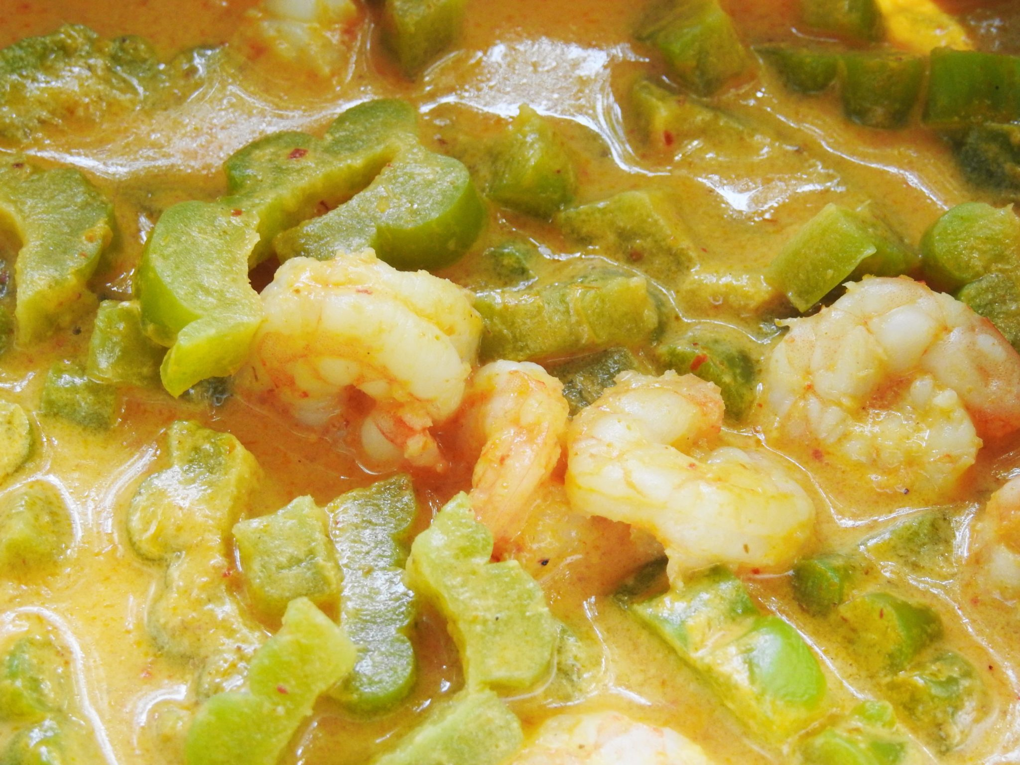 Bitter Melon Curry Shrimp