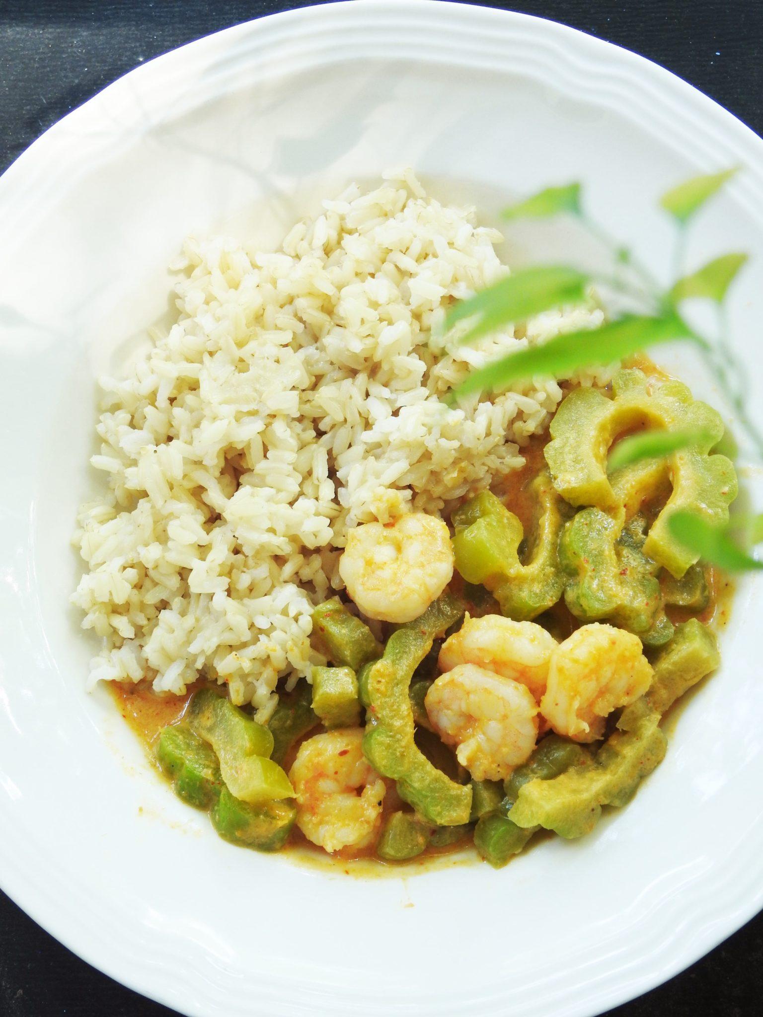 Bitter Melon Curry Shrimp