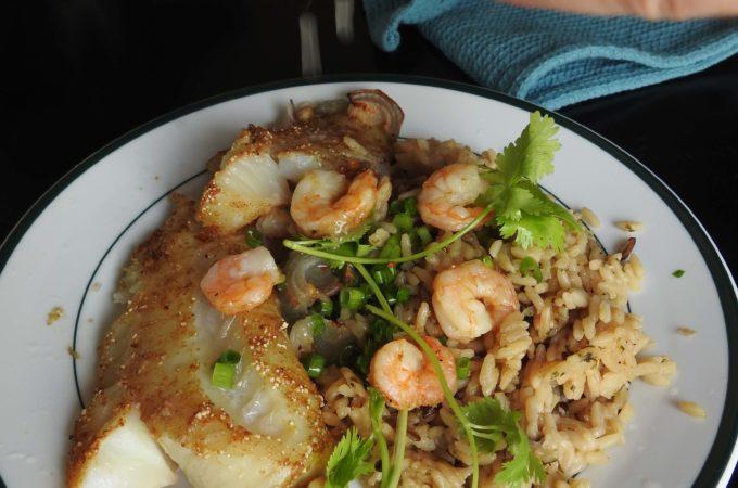 Baked Thai Cod