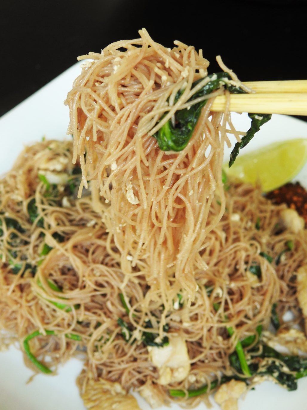 Pad See Ew Noodles With Chicken Healthy Thai Recipes