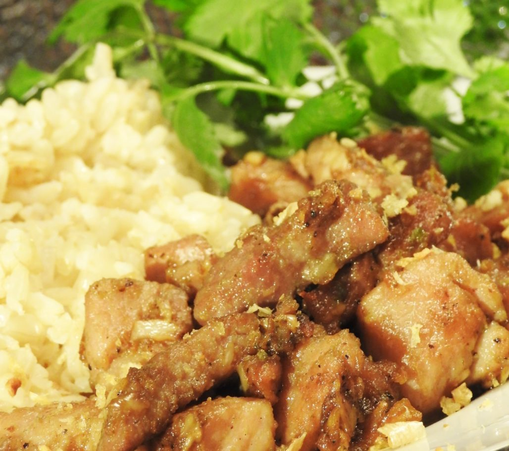 Thai Pepper Garlic Pork