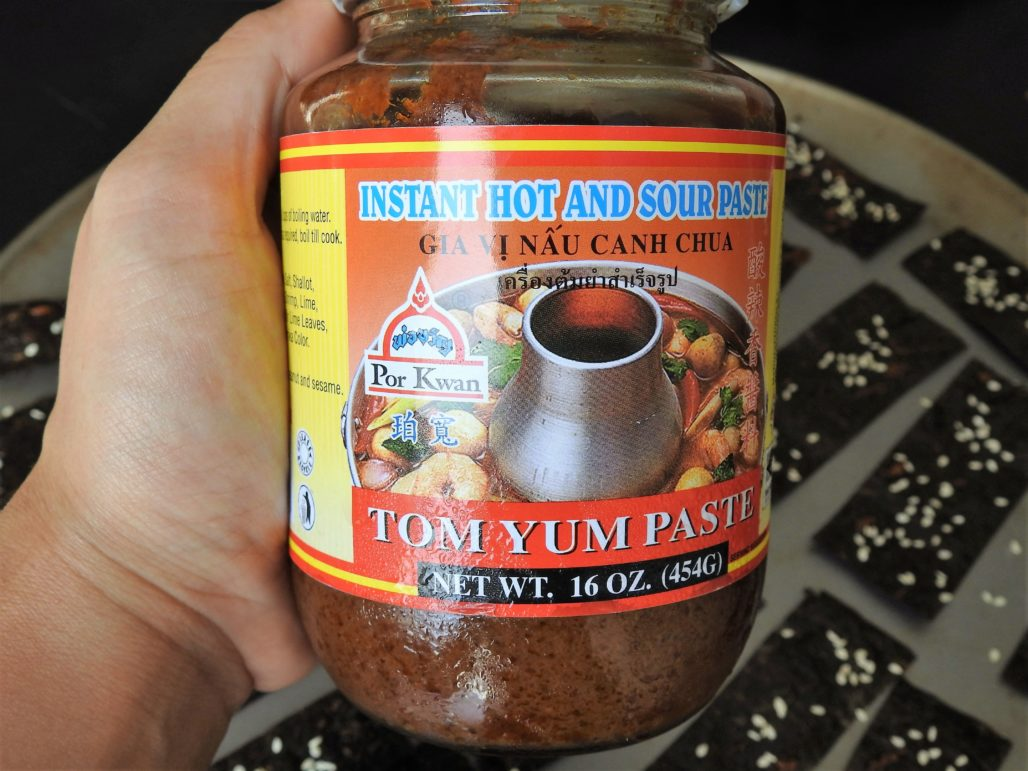 Tom Yum Paste for Seaweed