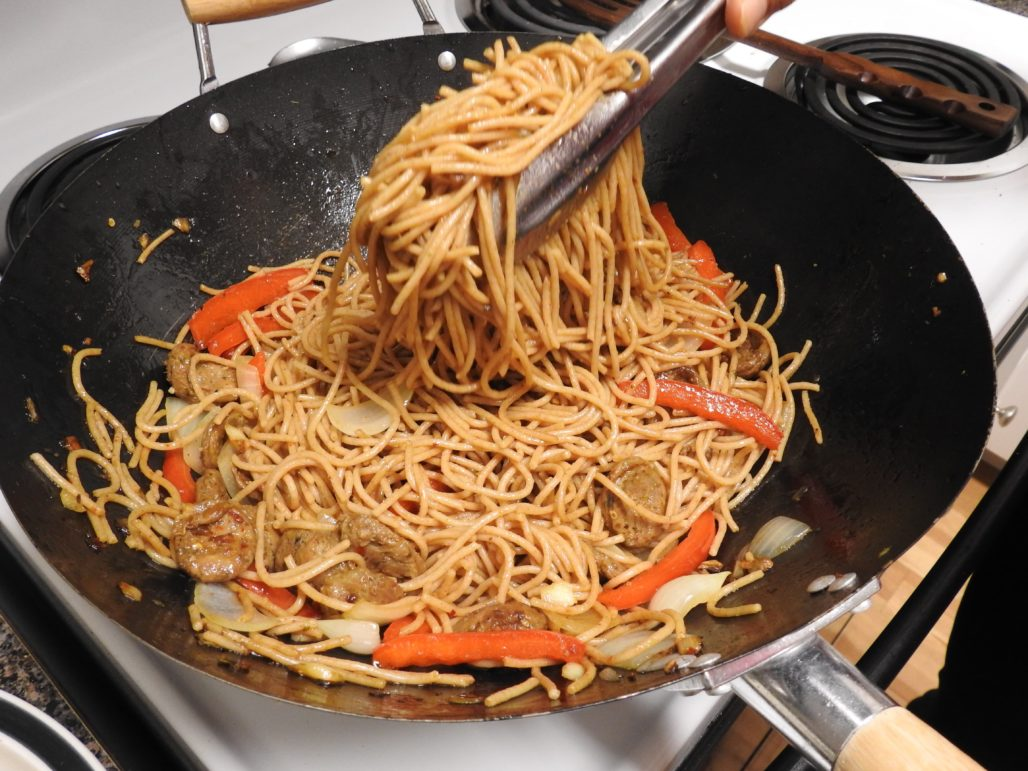 Add Whole Grain Noodles