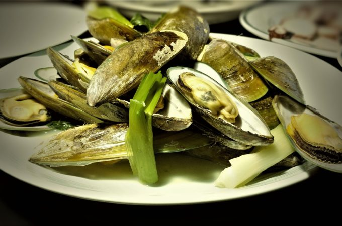 Steamed Muscles