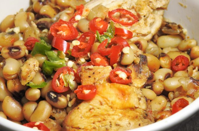 Thai Spiced Black-Eyed Peas