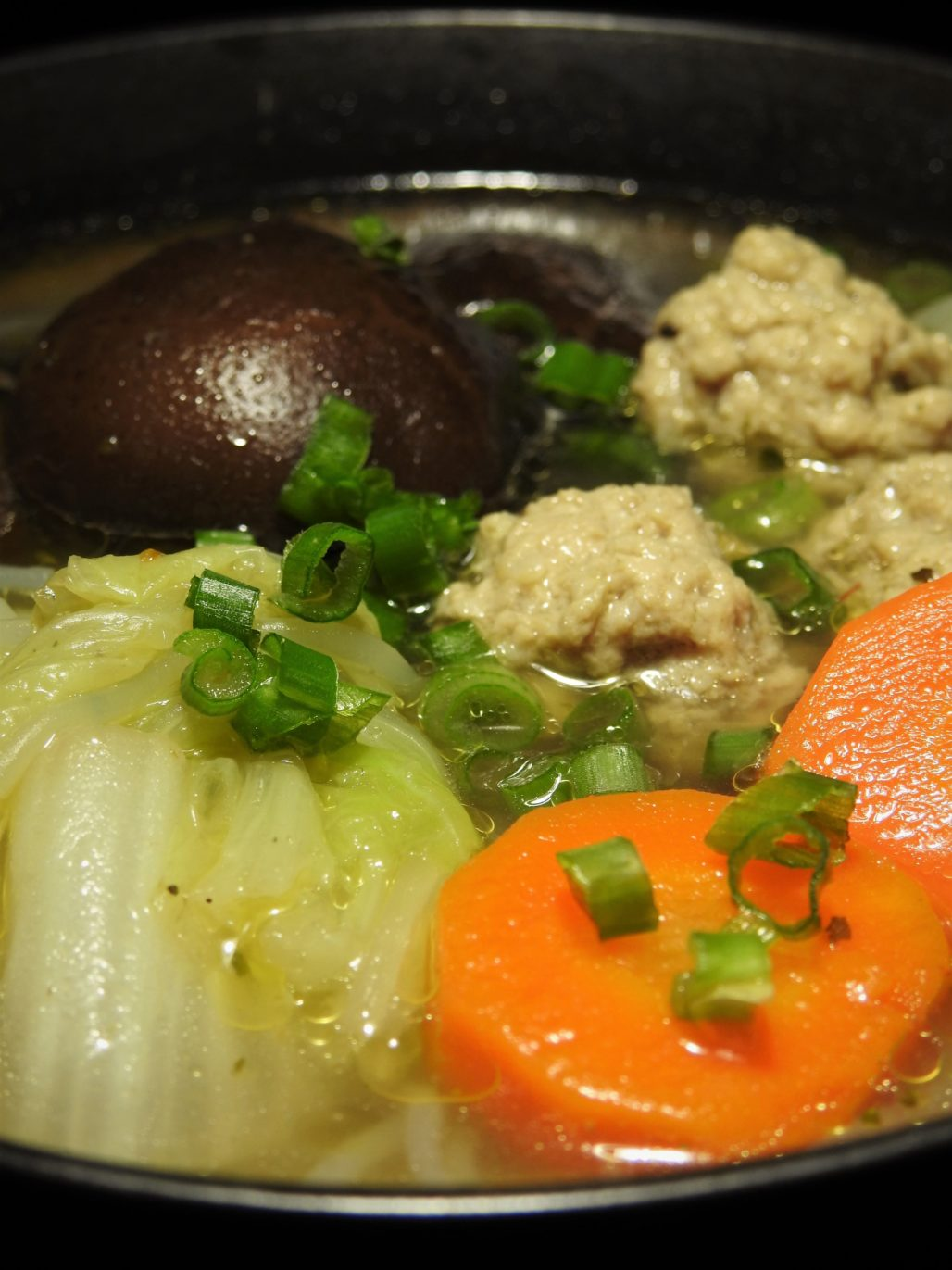 Tom Jued, Napa Cabbage Soup