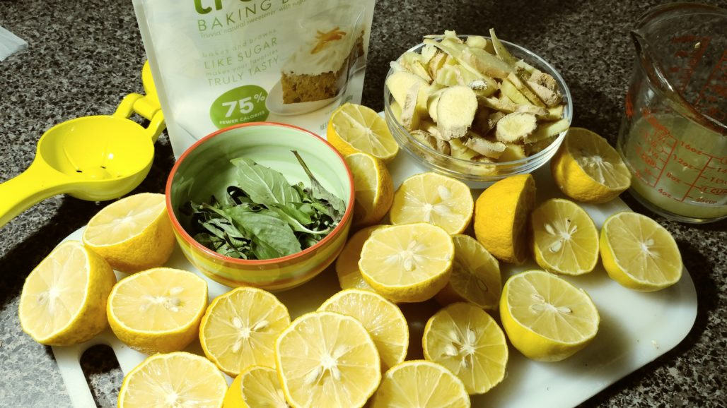 Ginger Lemonade Ingredients