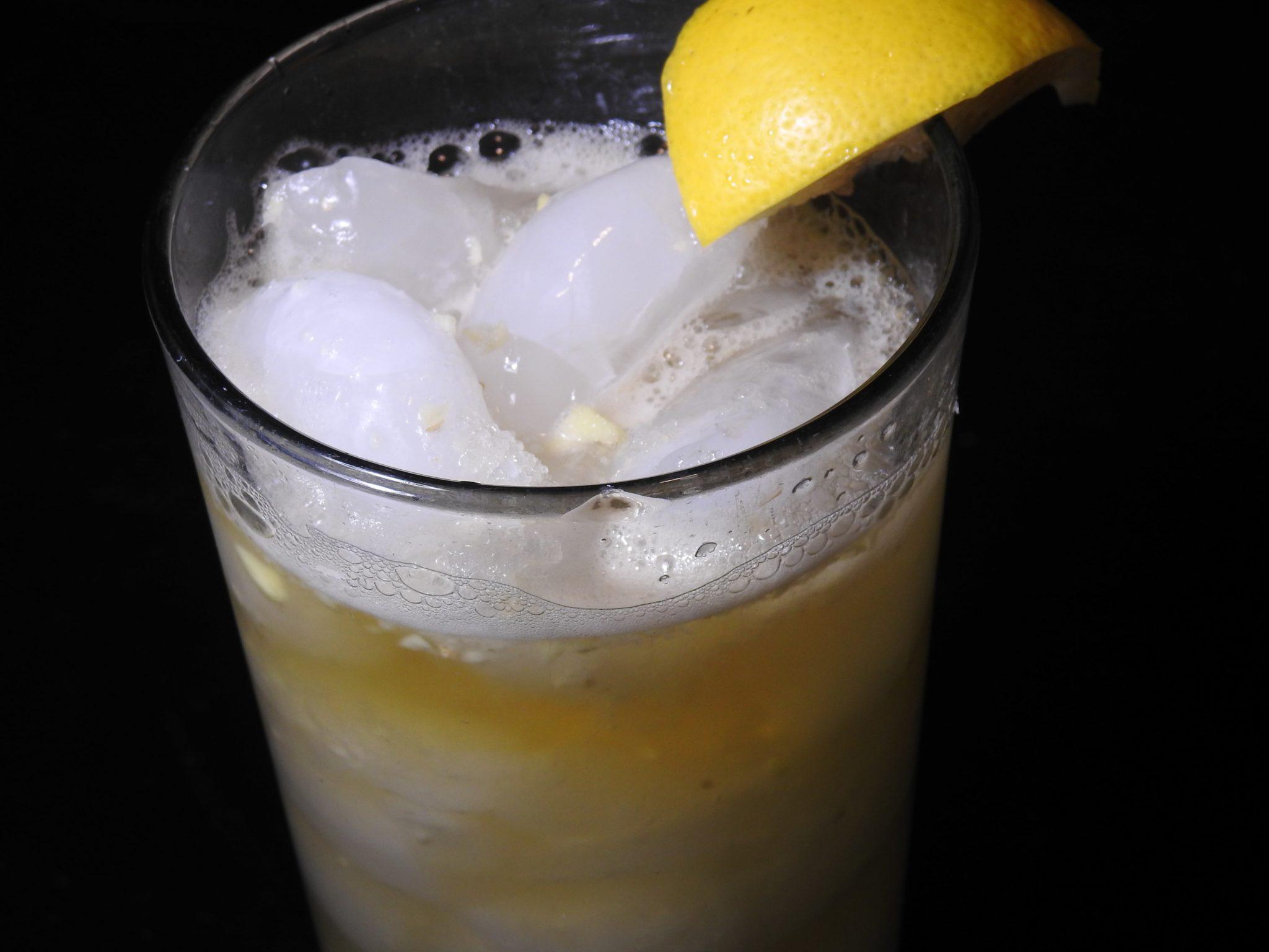 Low Calorie Thai Basil Ginger Lemonade Energy Drink