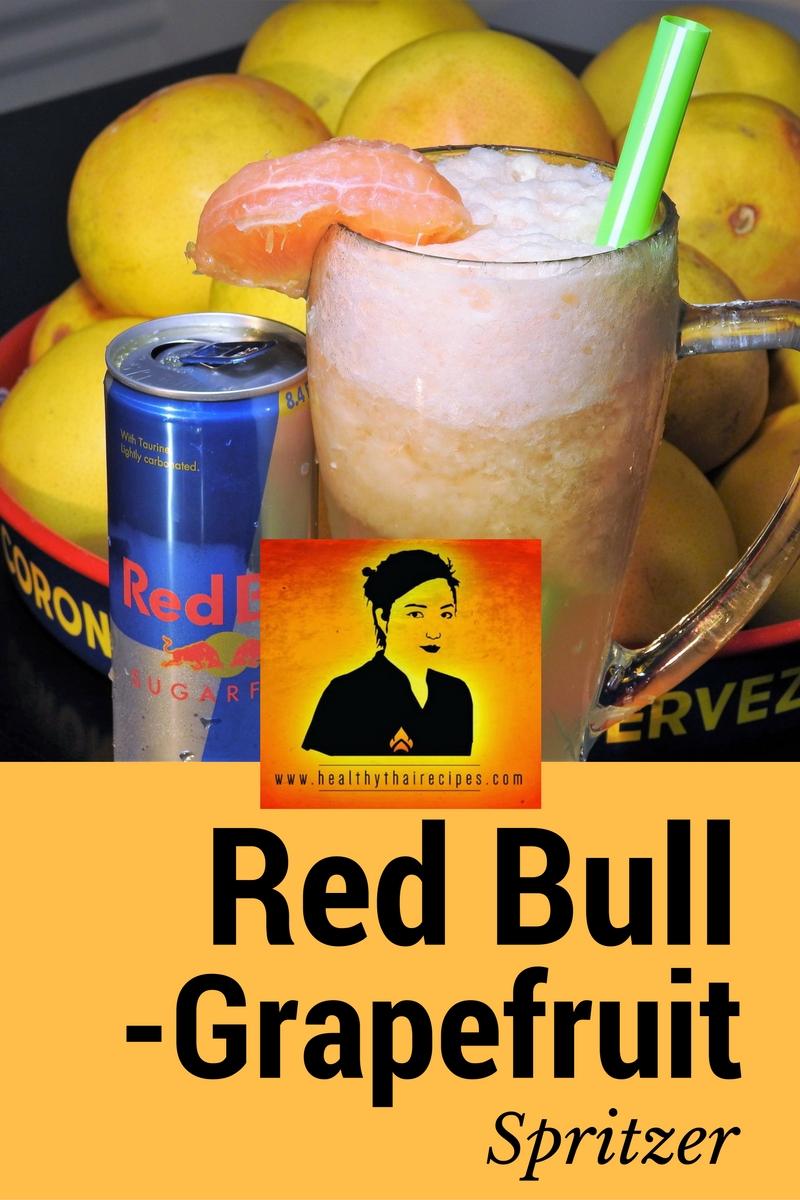 Grapefruit Red Bull Drink