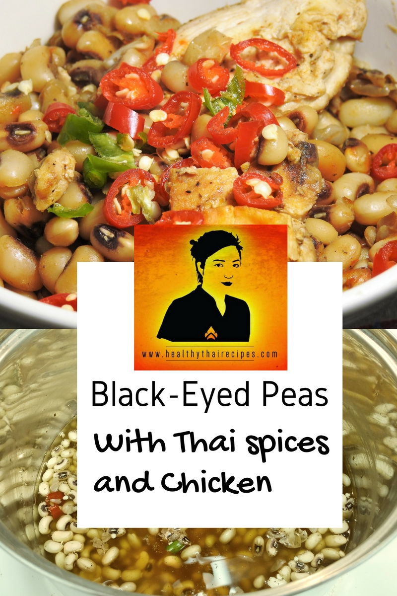 Thai black-eyed peas