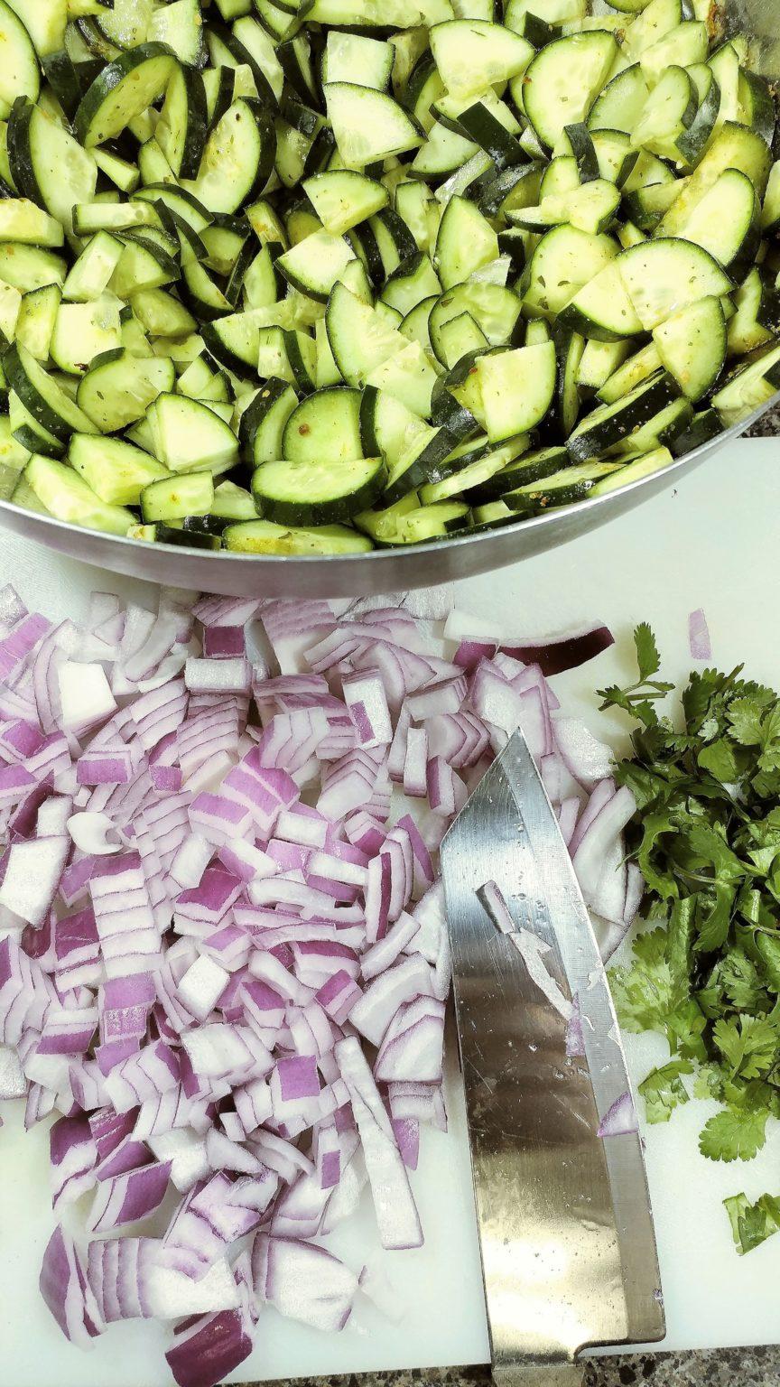Thai Cucumber Salad Ingredients
