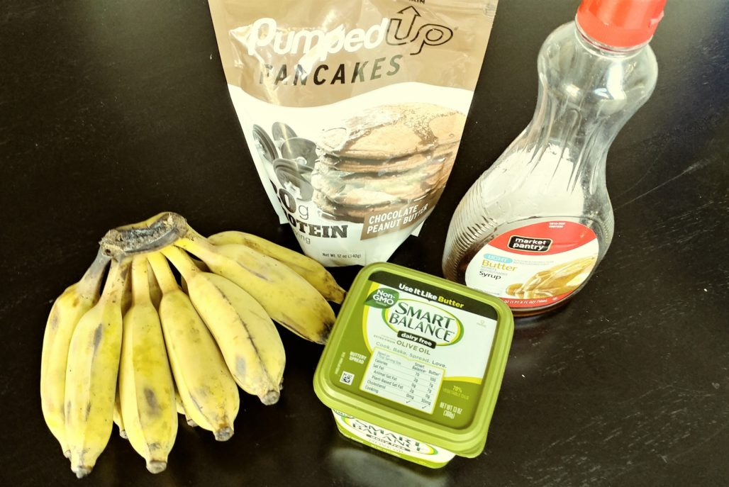 Thai Banana Pancake Ingredients