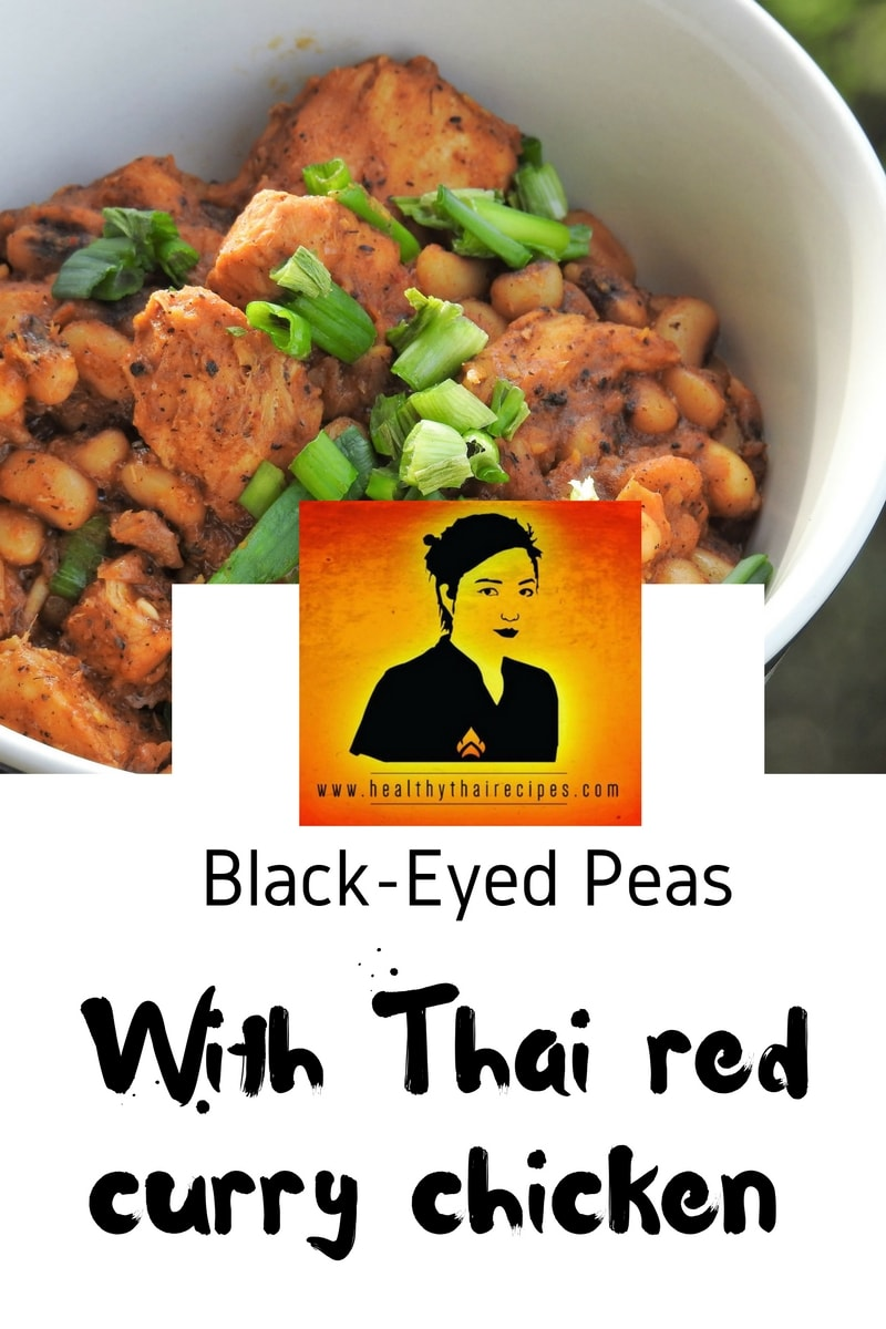 Thai Red Curry Black Eyed Peas Healthy Thai Recipes