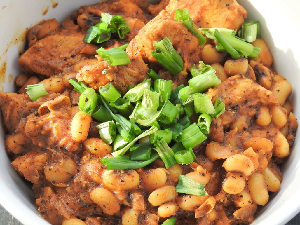 Red Curry Peas