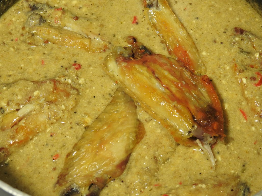 Savory Hot Chicken Wings in The Sauce