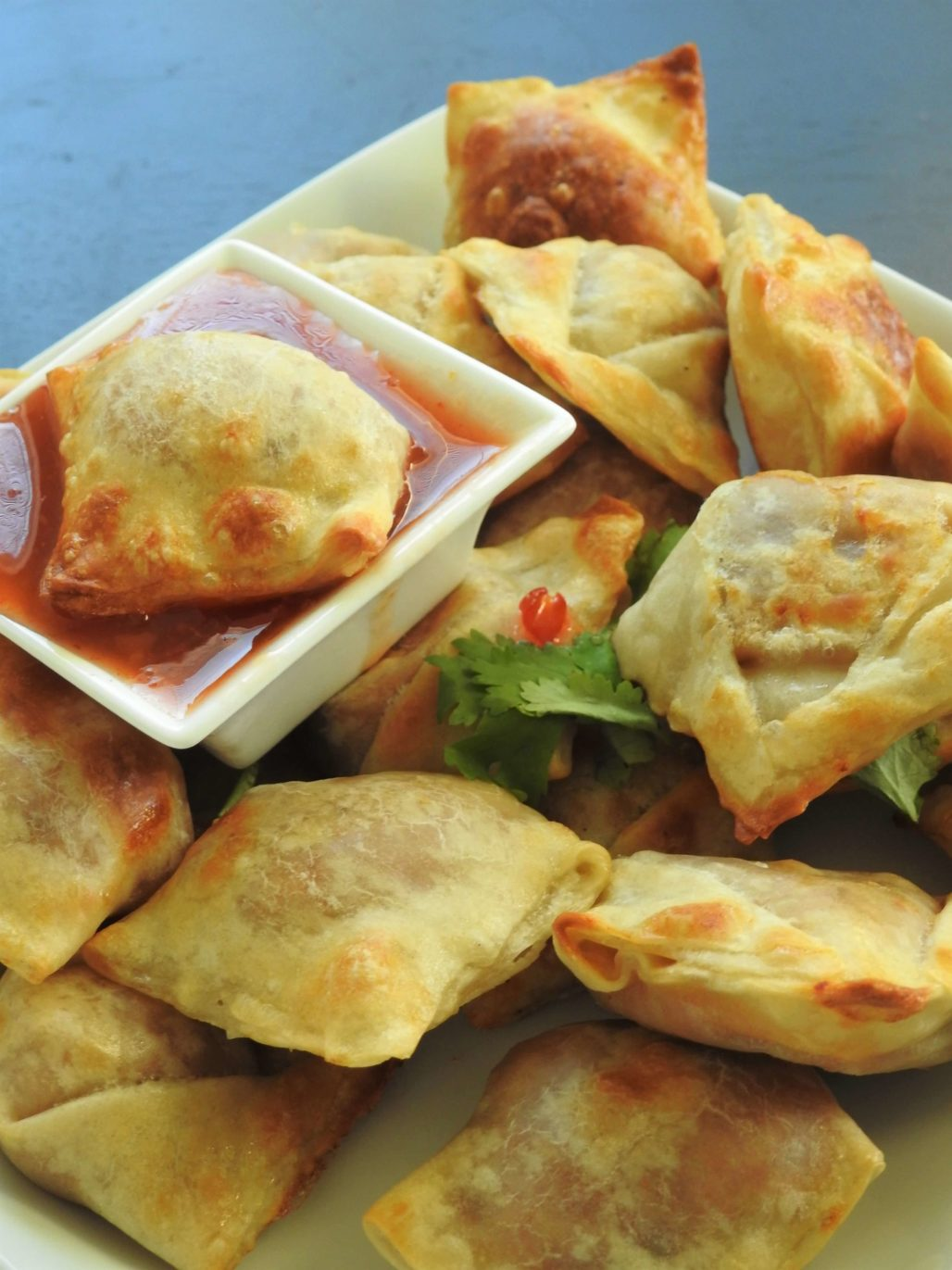 Thai Red Curry Puffs