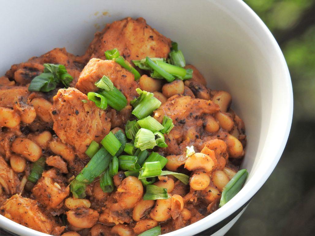 Thai Curry Black-Eyed Peas