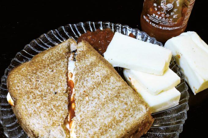 Thai Chili Grilled Cheese Sandwich