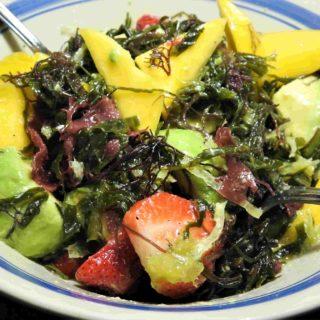Mixed Sea Veggies and Fruit Salad