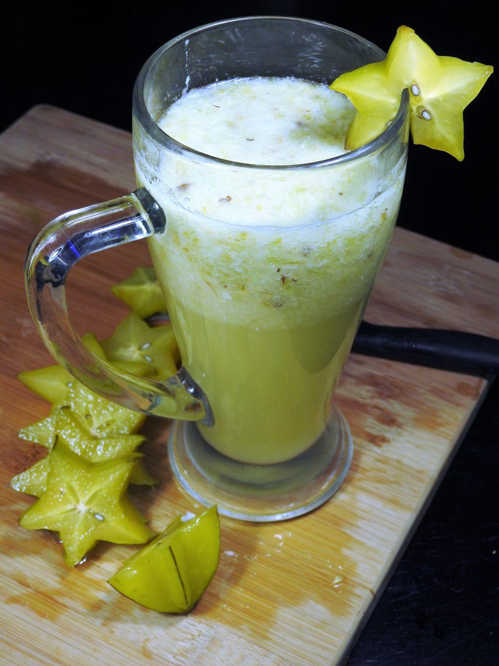 Pulpy Starfruit Drink