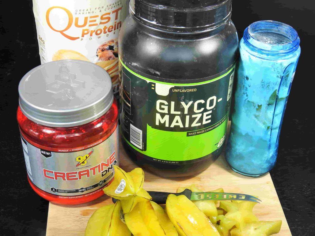 Starfruit Smoothie Ingredients