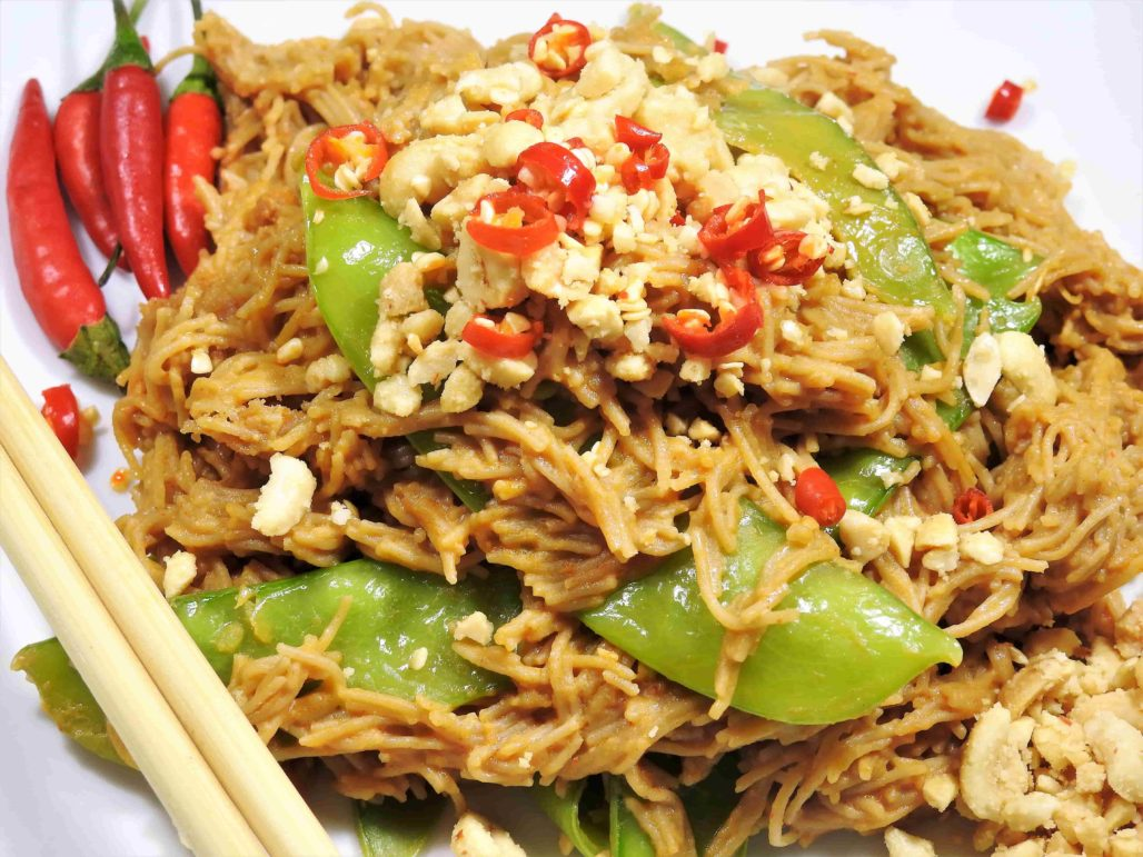 Thai Peanut Brown Rice Vermicelli
