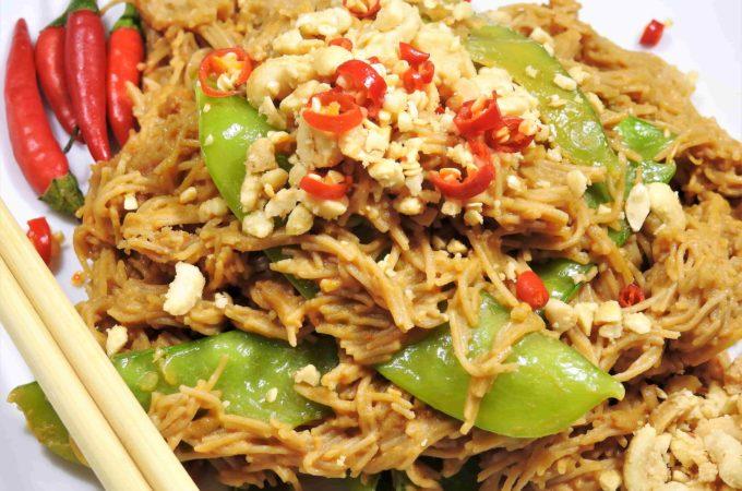 Thai Peanut Brown Rice Vermicelli