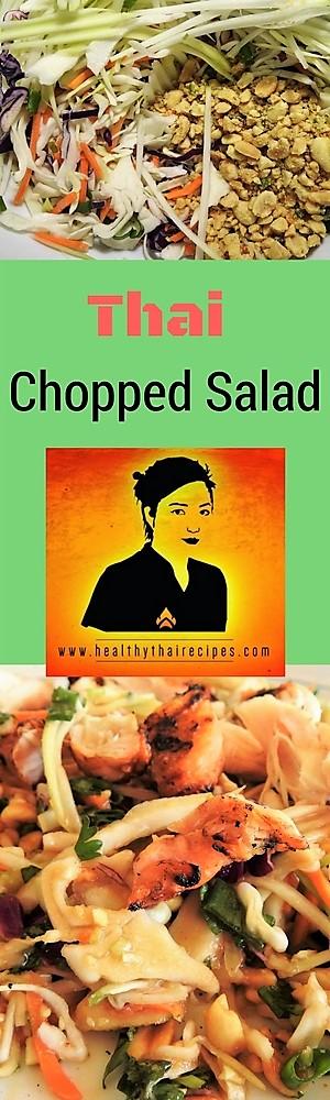 Thai Style Chopped Chicken Salad