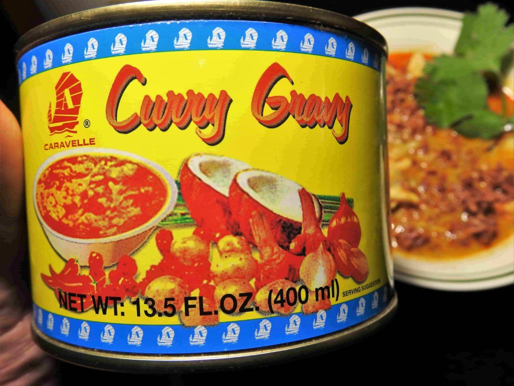 Canned Thai Curry Gravy