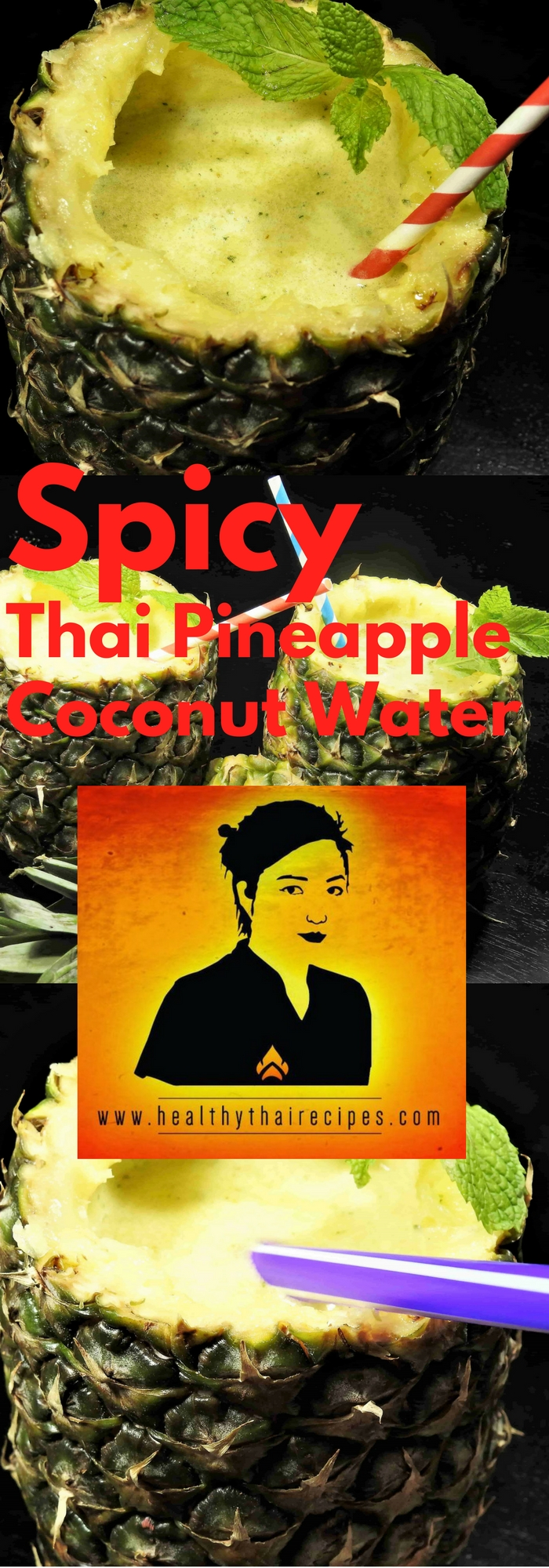 Spicy Thai Pineapple Coconut Water