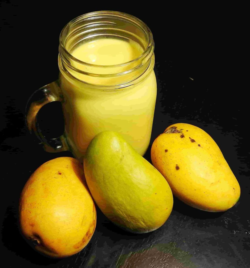 Honey Mango and Coconut Protein Smoothie - Healthy Thai Recipes