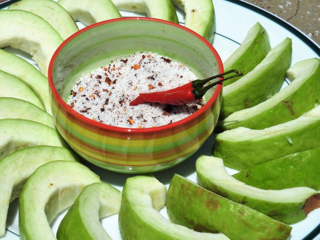 Prik Glua Fruit Dip